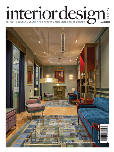 Interior Design Today March 2018 cover