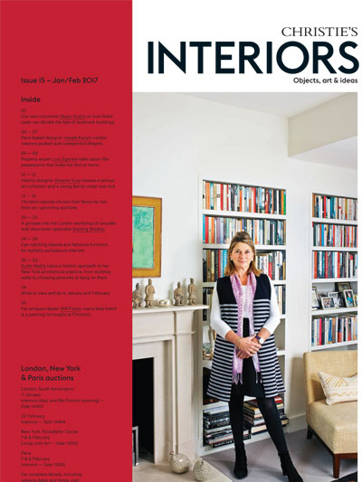 Christie's Interiors book cover