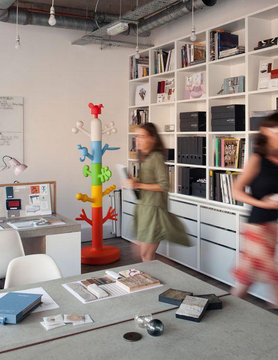 Inside the Studio Suss interior design office, Kings Cross, London