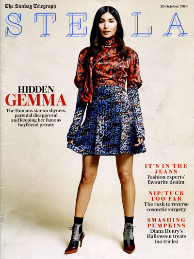 The Sunday Telegraph Stella magazine cover
