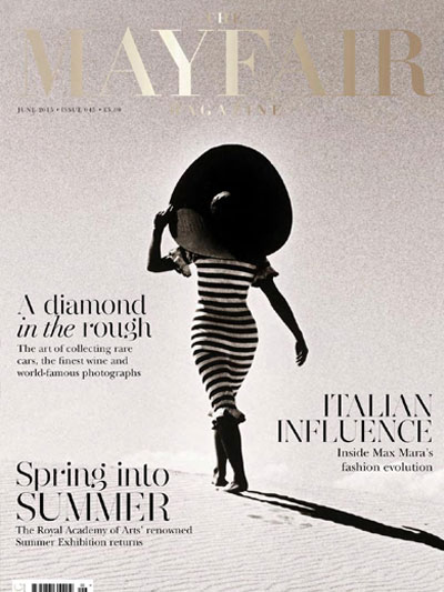 The Mayfair Magazine Spring/Summer cover