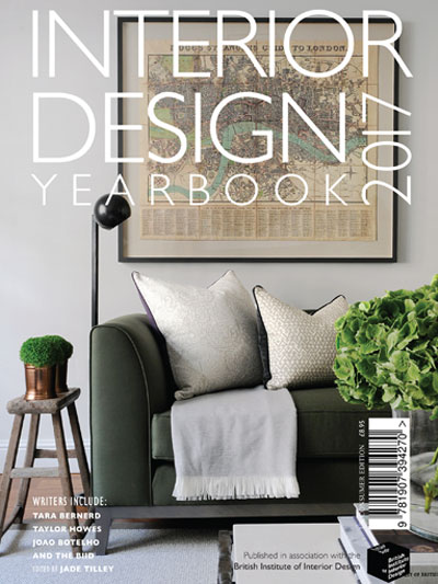 Interior Design Yearbook 2017 cover