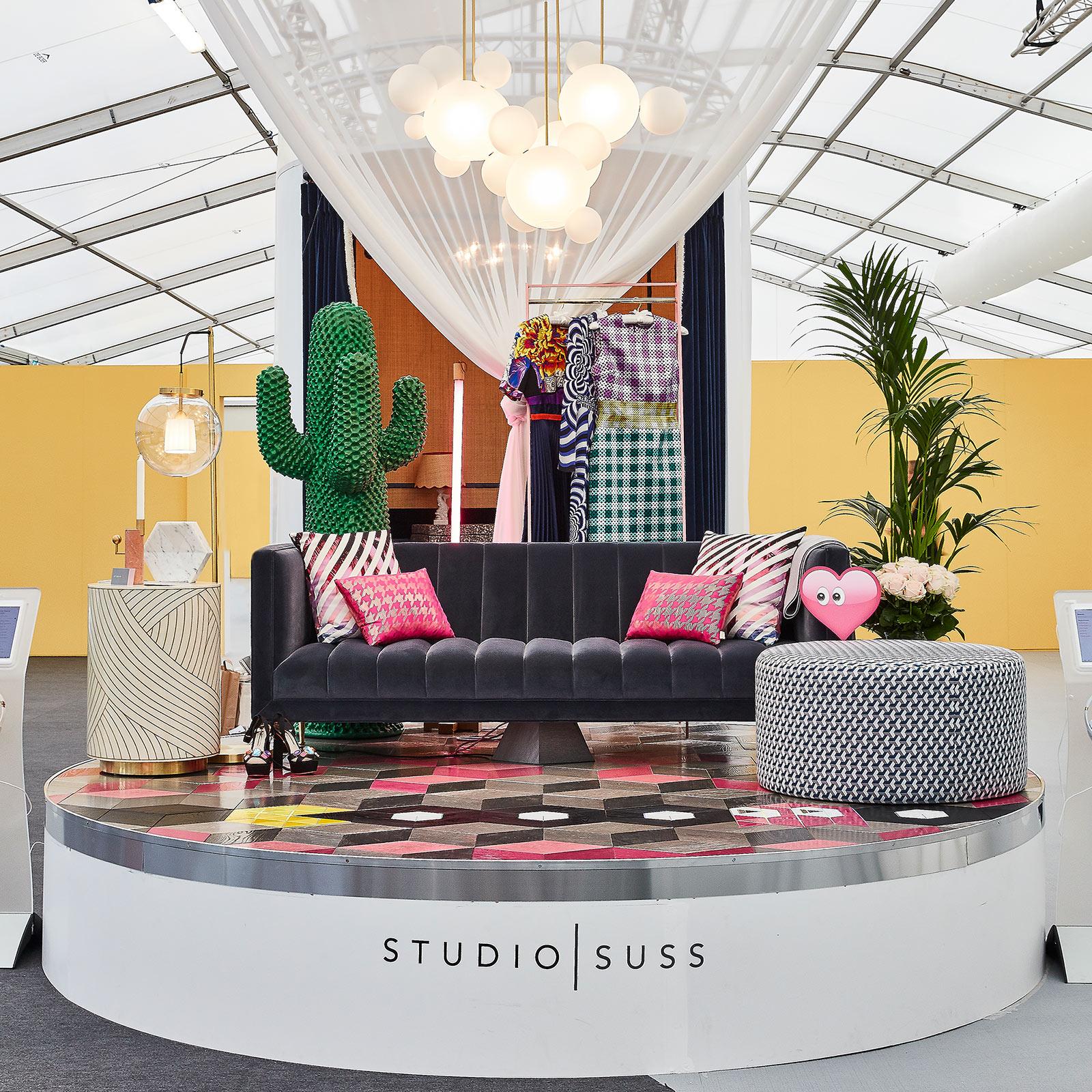 Full entrance way interior design exhibition for Decorex 2018 by Studio Suss